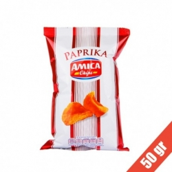 Amica Chips Paprika gr50 - 21 pezzi