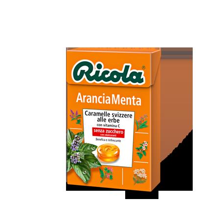 Ricola Arancia Menta  20 pezzi