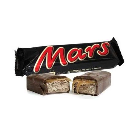Barrette Mars   24 pezzi