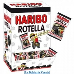 Haribo Rotelle Liquirizia 200pz